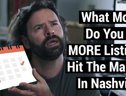 VIDEO: What Month Do You Usually Start To See More Listings Hit The Market In Nashville